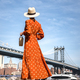 Attractive woman at the Manhattan Bridge - PhotoDune Item for Sale