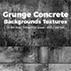 Grunge Gray Concrete Backgrounds Textures
