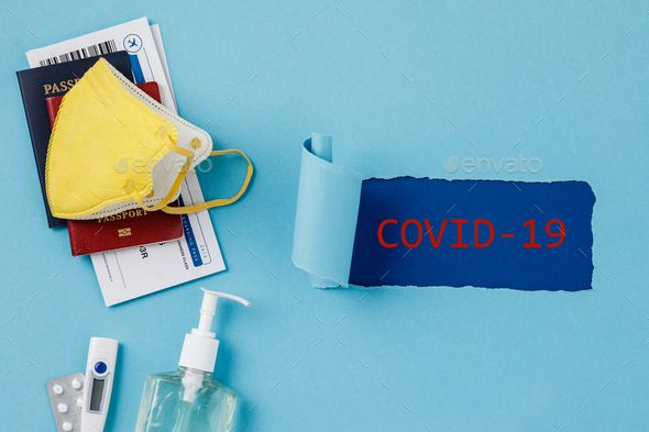Coronavirus and travel concept - Stock Photo - Images