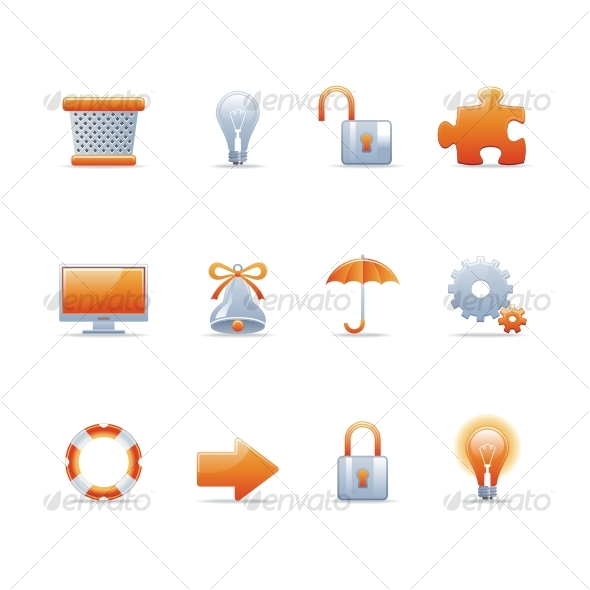 Glossy icon set 3 - Web Icons