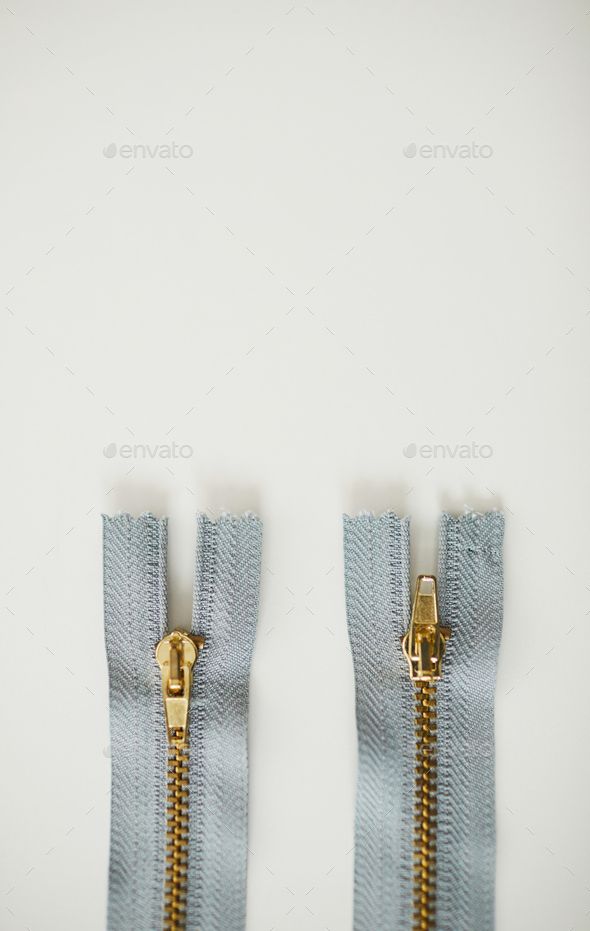 Zipper on the table - Stock Photo - Images