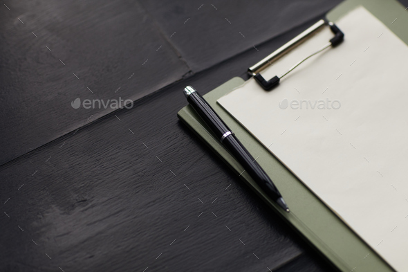 Business contract on the table - Stock Photo - Images