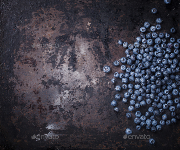 Blueberries.Fresh berry.Healthy food. - Stock Photo - Images