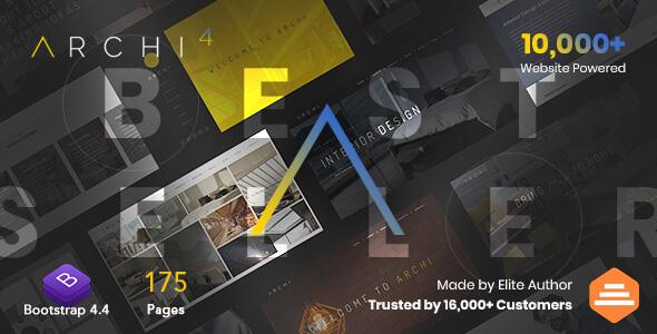 Archi - Multipurpose Interior Design Website Template