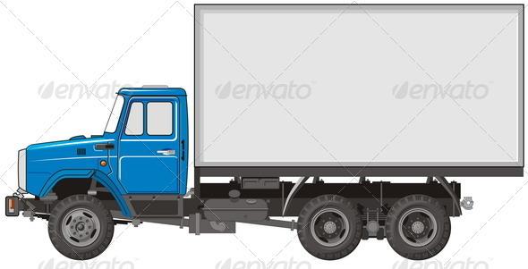 Heavy Truck - Man-made Objects Objects