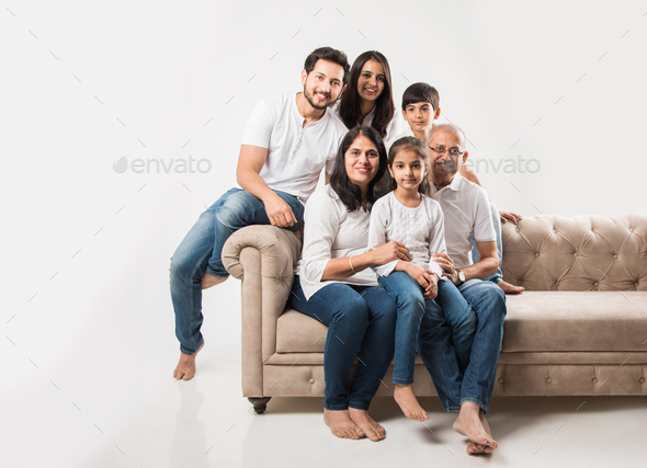 Indian Family - Stock Photo - Images