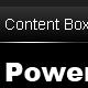 Sleek Black Menu (Nav Buttons + Content Boxes) - GraphicRiver Item for Sale
