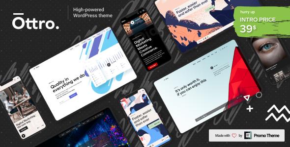 Ottro - Portfolio & MultiPurpose WordPress