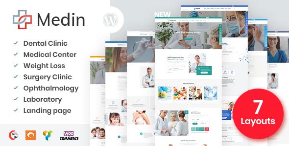 Medin - Medical Center WordPress Theme
