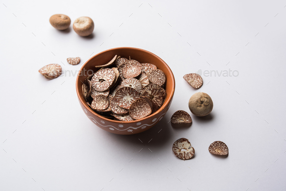 Digestive Betel nut chips in a bowl - Stock Photo - Images