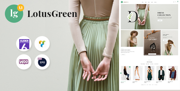 Download LotusGreen Multipurpose WooCommerce Theme Free Nulled