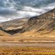 Amazing landscape Iceland beautiful mountains lava wild sunset panorama - PhotoDune Item for Sale