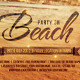 Beach - Flyer Template - GraphicRiver Item for Sale