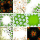 Floral Backgrounds Set - GraphicRiver Item for Sale