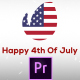 Fresh & July 4th Patriotic Logo Opener - Premiere Pro - VideoHive Item for Sale