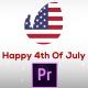 Fresh & July 4th Patriotic Logo Opener - Premiere Pro - VideoHive Item for Sale