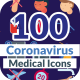 Corona Virus Icons - VideoHive Item for Sale