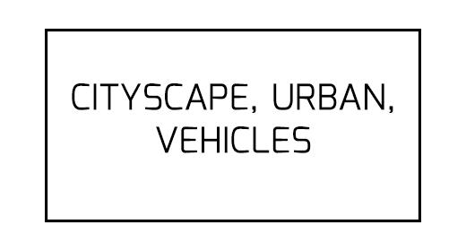 Cityscape, Urban, Vehicles