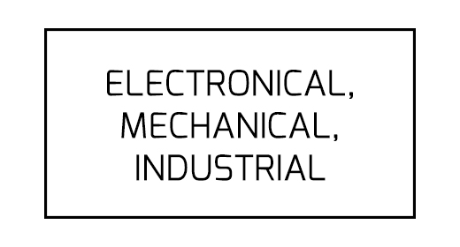 Electronical, Mechanical, Industrial