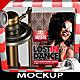 Modern 3D Flyer and Poster Mockup V2