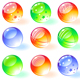 Shiny spheres. Vector - GraphicRiver Item for Sale