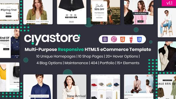 Nice Ciyastore - Multi-Purpose Responsive HTML5 eCommerce Template