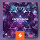 Xenon Base – Psytrance Album Cover Template