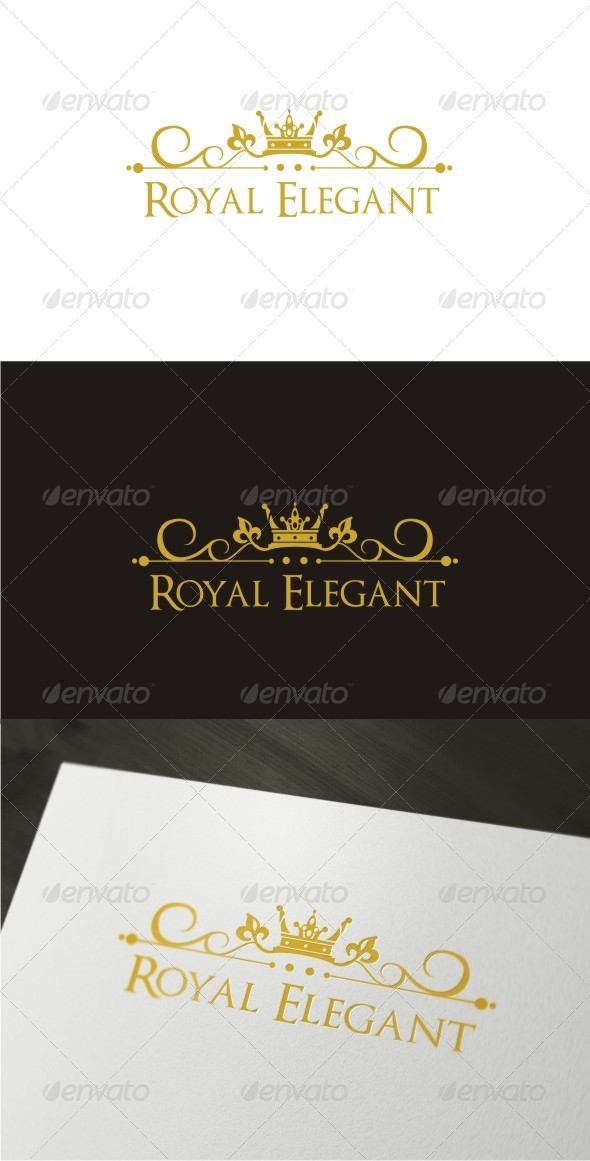 Royal Elegant Logo - Objects Logo Templates