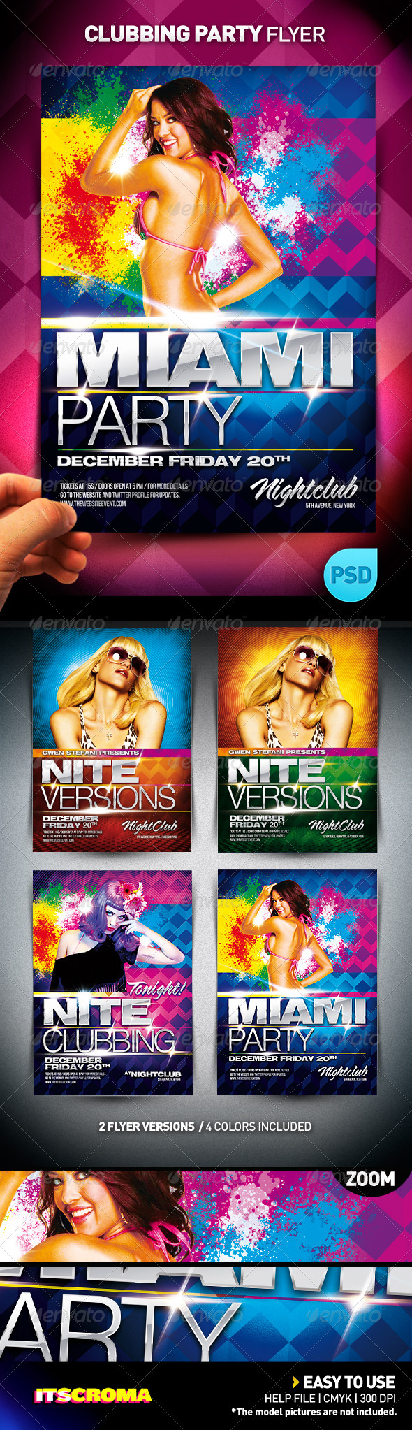 Clubbing Party Flyer - Clubs & Parties Events