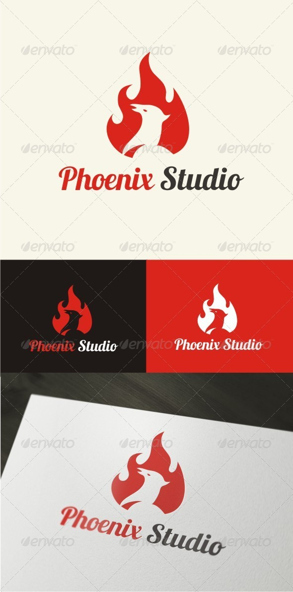 Phoenix Logo Template - Nature Logo Templates
