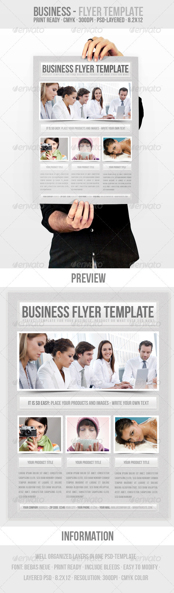 Business - Flyer Template - Corporate Flyers