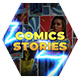 Comics Instagram Stories - VideoHive Item for Sale
