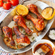 Marinated chicken drumsticks - PhotoDune Item for Sale