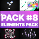 Flash FX Elements Pack 08 | FCPX - VideoHive Item for Sale