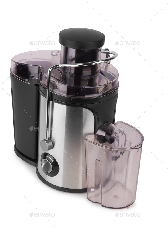 Electric juicer isolated - Stock Photo - Images