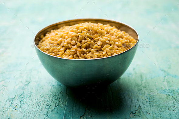 Crispy Moong Dal Namkeen - Stock Photo - Images