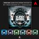 Music Album Cover Artwork Template - Super Bass