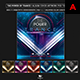 Music Album Cover Artwork Template - The Power of Trance