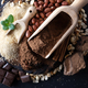 Cocoa powder, chocolate, nuts and spices - PhotoDune Item for Sale