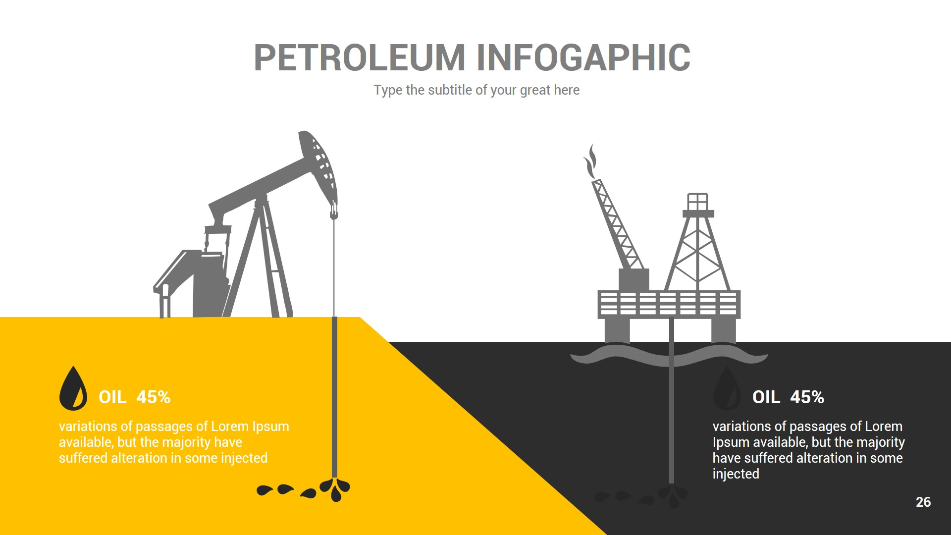 Petroleum Powerpoint Presentation Template By Rengstudio Graphicriver