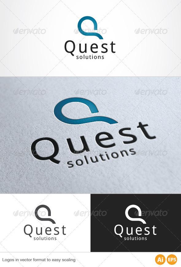 Quest Logo - Letters Logo Templates