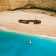 Navagio bay and Ship Wreck beach in summer. Zakynthos, Greece in the Ionian Sea - PhotoDune Item for Sale