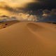Storm clouds over sand dunes in the desert - PhotoDune Item for Sale