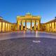 The illuminated Brandenburg Gate in Berlin - PhotoDune Item for Sale