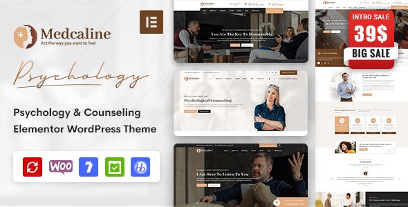 Medcaline - Psychology & Counseling WordPress Theme