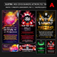 Electro - WEB Event Banner / Poster Photoshop Templates