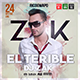 El Terible Promote DJ - Electro Album / Cover / Flyer Template