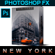 Famous City's / NEW YORK - Photoshop Action