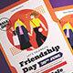 Friendship Day Celebration Flyer