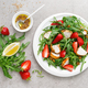 Strawberry salad with arugula and chicken meat - PhotoDune Item for Sale